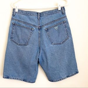 Vintage 90's Guess High Rise Waisted Denim Shorts